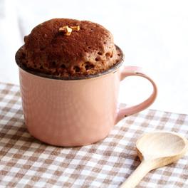 カップでケーキ